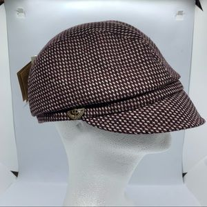deLux Women's Adjustable Hat Mauve New With Tags